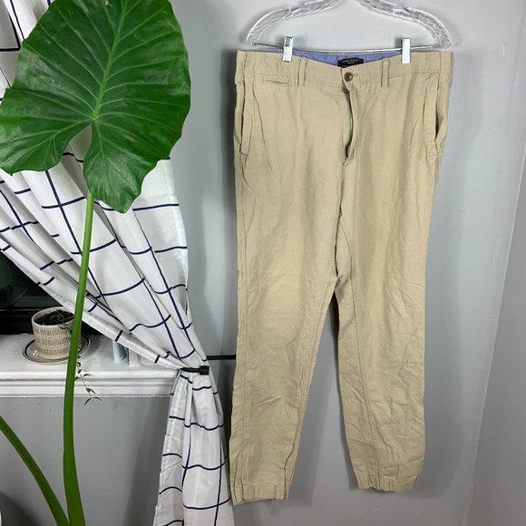 Banana Republic Slim Fit Pants Tan Size 36 x 36